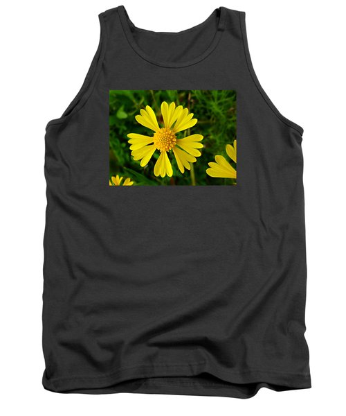 Tank Top featuring the photograph Wild Fine Leaved Sneezeweed by William Tanneberger