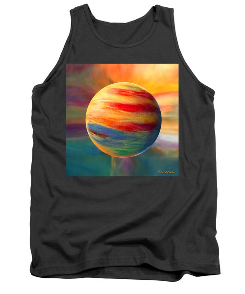 Fire And Ice Ball  Tank Top