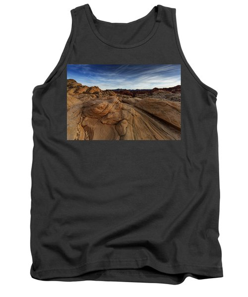 Fire Canyon, Valley Of Fire Tank Top