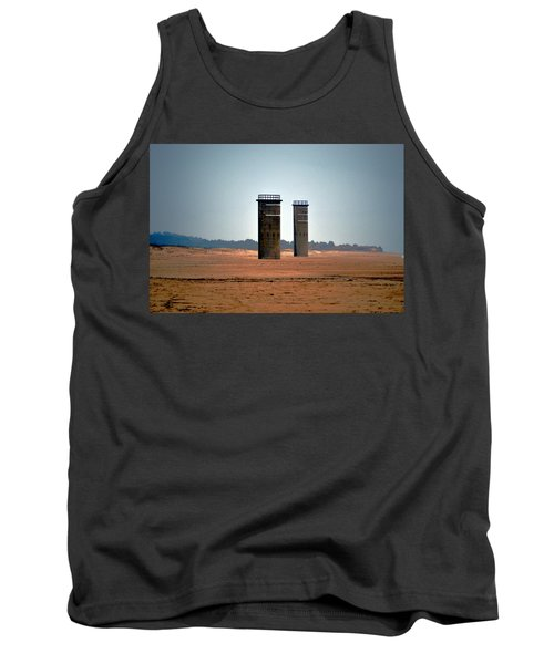 Fct5 And Fct6 Fire Control Towers On The Beach Tank Top