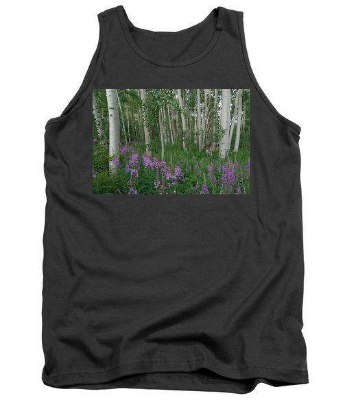 Fireweed And Aspen Tank Top