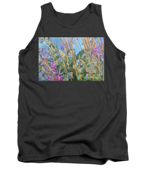 Tank Top featuring the photograph Fireweed Number Six by Brian Boyle