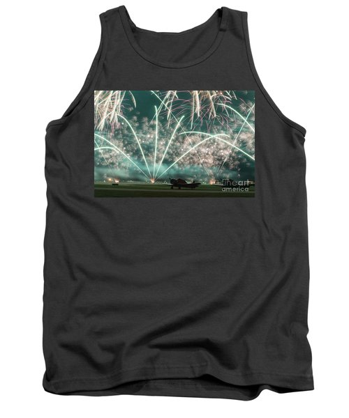 Fireworks And Aircraft Tank Top