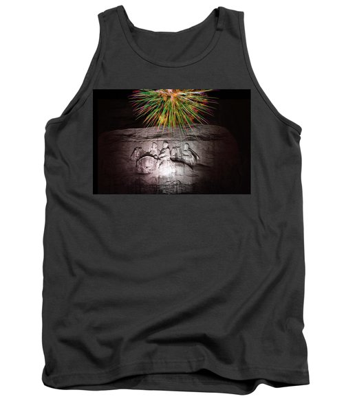Fireworks Over Stone Mountain Tank Top