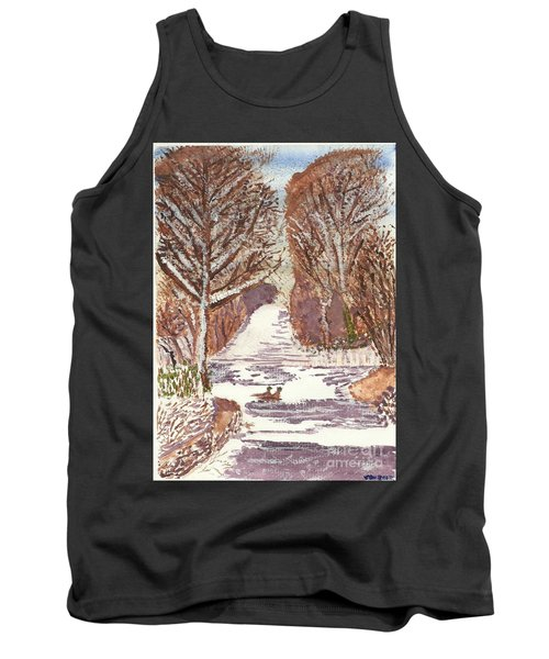 First Footprints Tank Top
