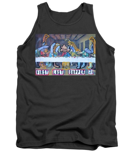 First Last Supper Tank Top