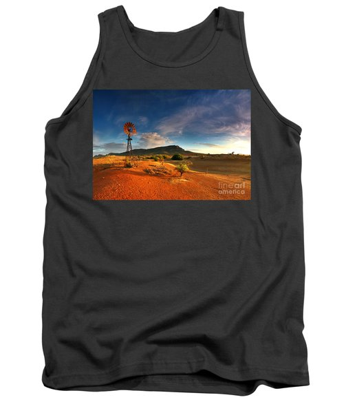 First Light On Wilpena Pound Tank Top