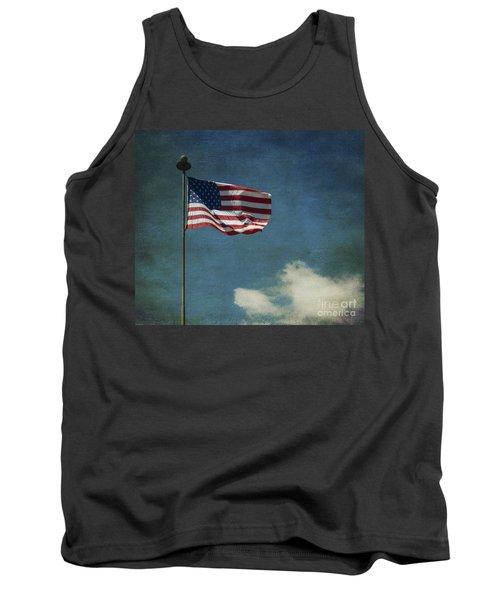 Flag - Still Standing Proud - Luther Fine Art Tank Top
