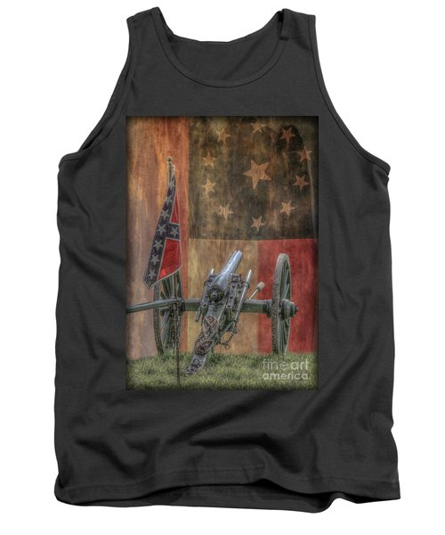 Flags Of The Confederacy Tank Top by Randy Steele