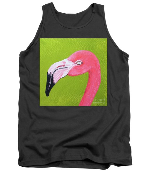 Flamingo Head Tank Top