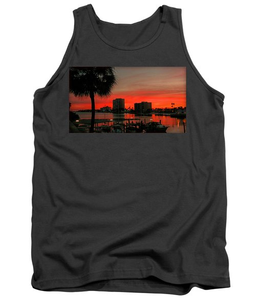 Florida Sunset Tank Top by Hanny Heim