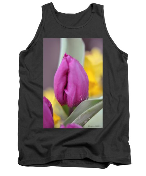 Flower In The Spring Tank Top by Miguel Winterpacht