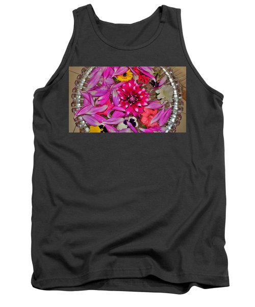 Flower Offerings - Jabalpur India Tank Top
