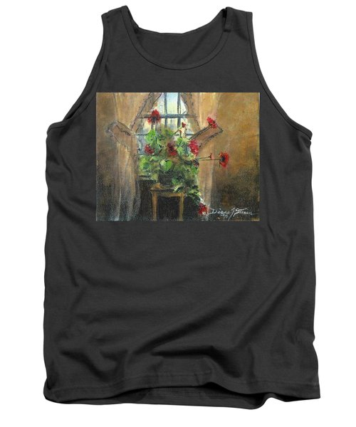 Flowers By The Window Tank Top