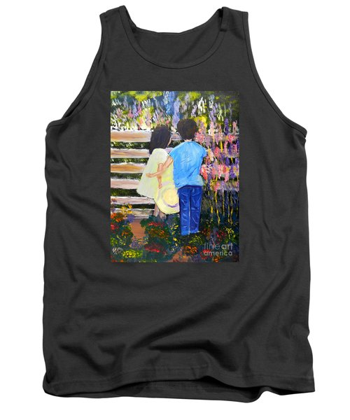 Flowers For Her Tank Top by Pamela  Meredith