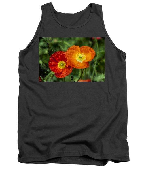 Flowers In Kodakchrome Tank Top