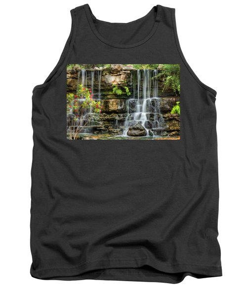 Flowing Falls Tank Top by Dave Files