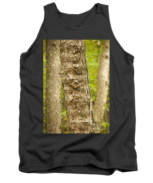 Tank Top featuring the photograph Fluted Tree by Carol Lynn Coronios