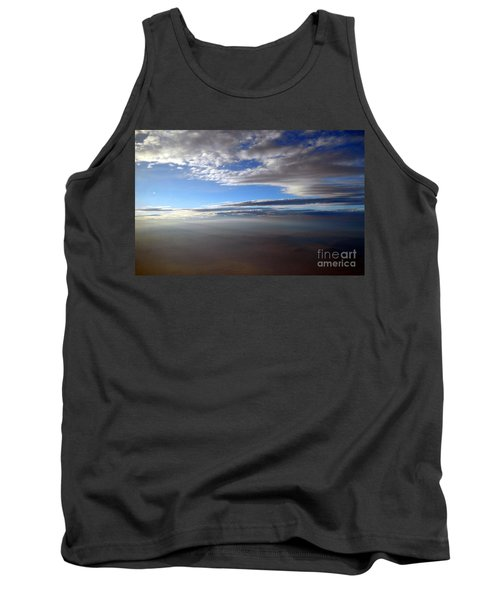 Flying Over Southern California Tank Top