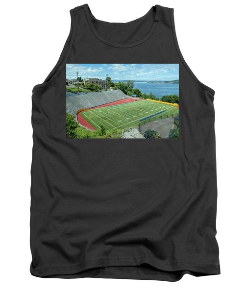 Football Field By The Bay Tank Top