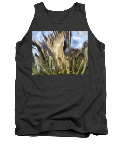 Tank Top featuring the photograph Forbidden Forest by Martin Howard