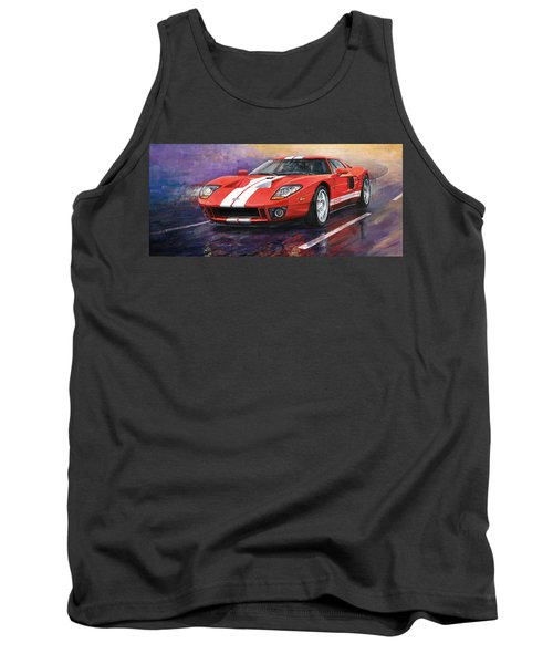 Ford Gt 2005 Tank Top
