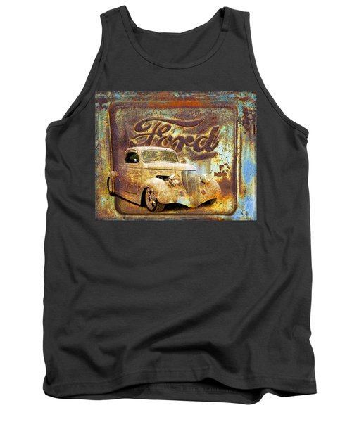 Ford Coupe Rust Tank Top