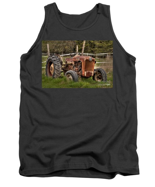 Ford Tractor Tank Top by Alana Ranney