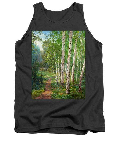 Russian Forest Footpath Tank Top