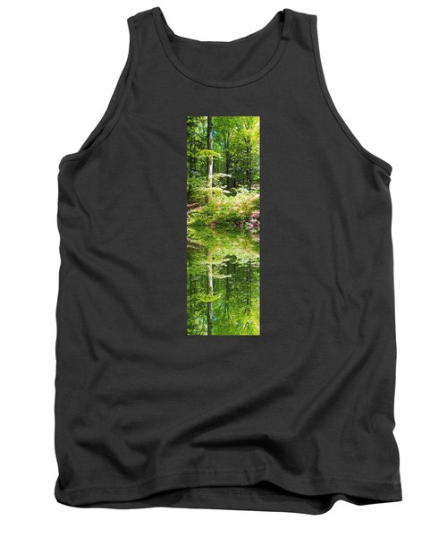 Tank Top featuring the photograph Forest Reflections by John Stuart Webbstock