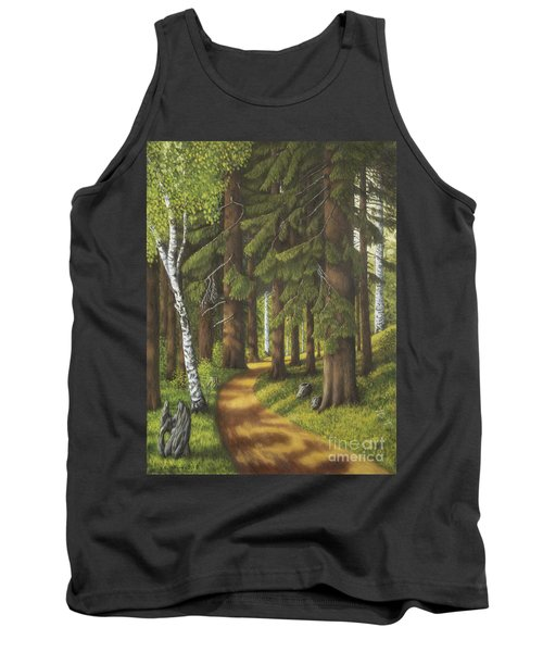 Forest Road Tank Top