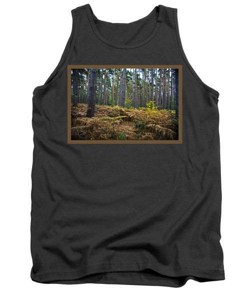 Tank Top featuring the photograph Forest Trees by Maj Seda