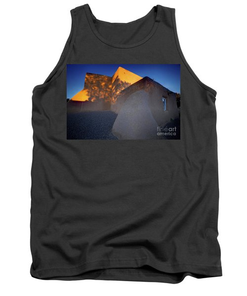 Form And Shadow--san Francisco De Asis - Color Tank Top by Gary Holmes