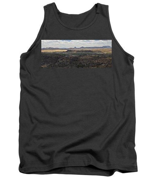 Fort Davis From Davis Mountains State Park Tank Top
