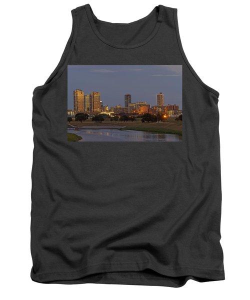 Fort Worth Skyline Golden Hour Tank Top