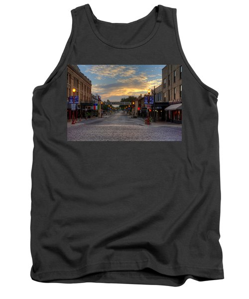 Fort Worth Stockyards Sunrise Tank Top