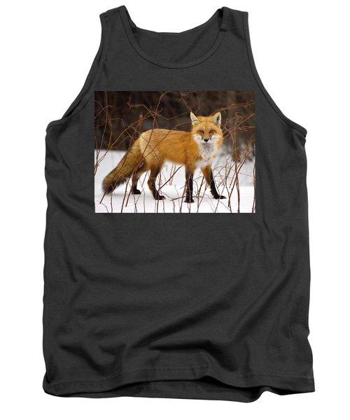 Fox In Winter Tank Top