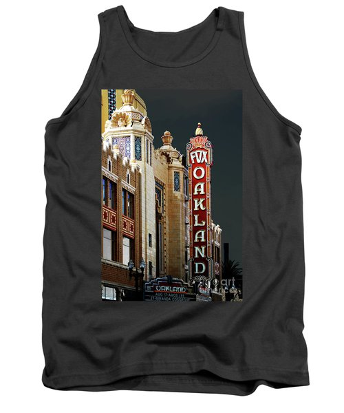 Fox Theater . Oakland California Tank Top