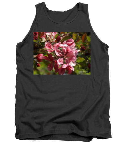 Fragrant Crab Apple Blossoms Tank Top by Brenda Brown