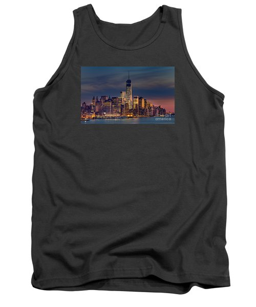 Freedom Tower Construction End Of 2013 Tank Top