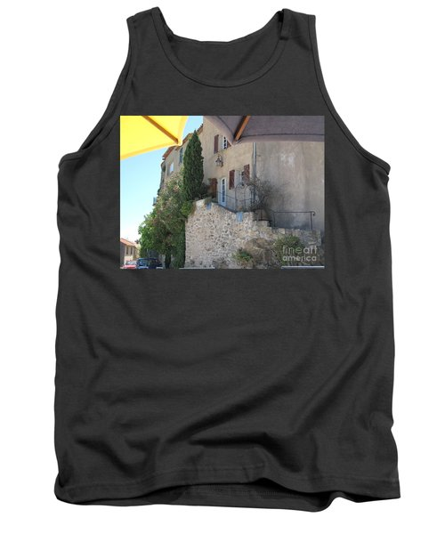 Tank Top featuring the photograph French Riviera - Ramatuelle by HEVi FineArt