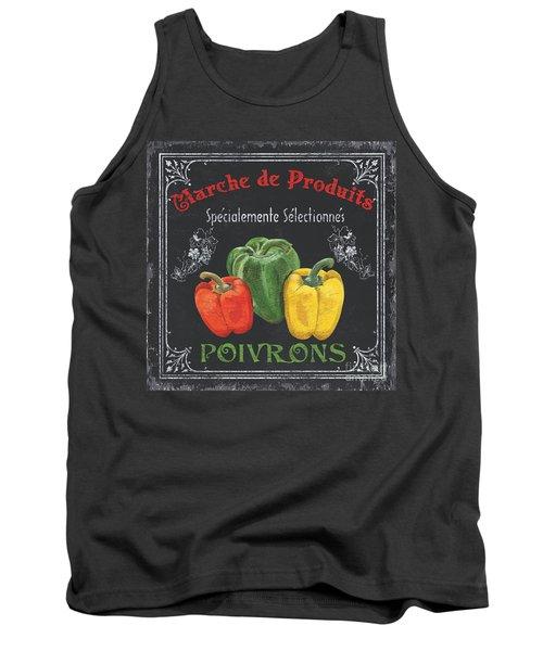 French Vegetables 3 Tank Top by Debbie DeWitt