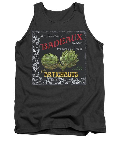 French Veggie Labels 1 Tank Top