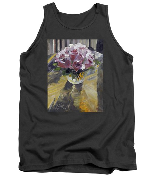 Tank Top featuring the painting Fresh by Pattie Wall
