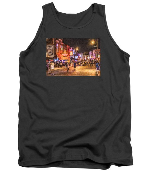Friday Night On Beale Tank Top