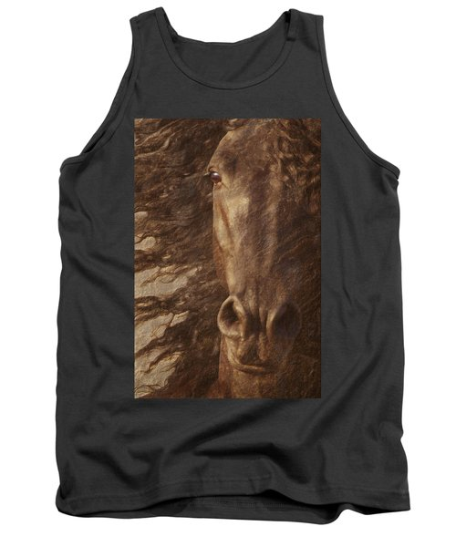 Friesian Spirit Tank Top by Melinda Hughes-Berland