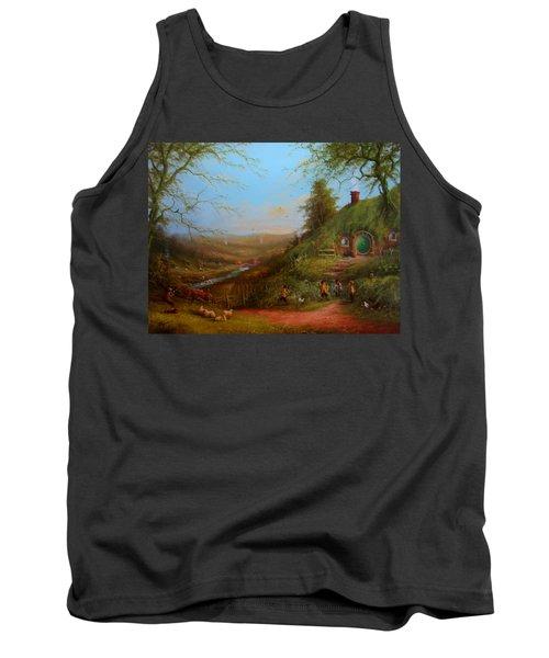 Frodo's Inheritance Bag End Tank Top by Joe  Gilronan