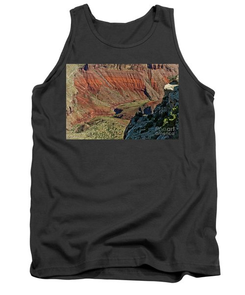 Tank Top featuring the photograph From Yaki Point 5 Grand Canyon by Bob and Nadine Johnston