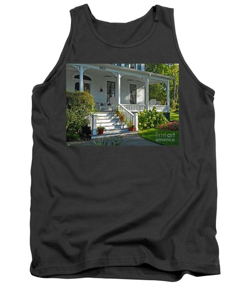 Front Porch In Summer Tank Top by Desiree Paquette