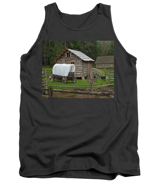 Frontier Life Tank Top by Tikvah's Hope
